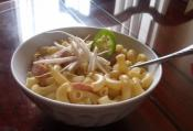Protein-rich Macaroni Soup
