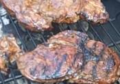 Barbecued Bison Steaks