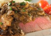 Homemade Steak Diane