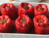 Beef Parmesan Stuffed Peppers
