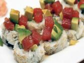 How To Make Sushi - Green And Red Rolls