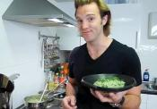 Pea And Goat Cheese Risotto