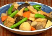 All Time Favorite Vegetable Tofu Nimono
