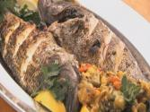 How To Make Whole Grilled Sea Bass