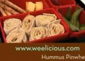 Hummus Pinwheel For Kids