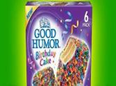 Good Humor Birthday Cake Ice Cream Bar Review