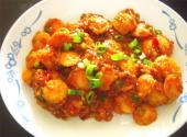Cocktail Idli Manchurian