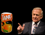 Tang Sucks For Buzz Aldrin