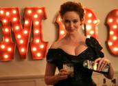 'mad Men' Star Christina Hendricks Tastes Some Johnnie Walker