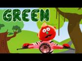 Color Songs For Kids- Green Color
