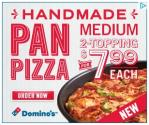 Domino's Tosses Handmade Pan Pizza For You!