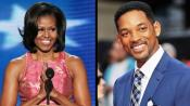 Michelle Obama Attends Will Smith's Fundraiser For $2.1mln