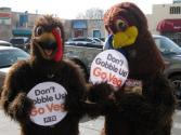 Peta Scares The Daylights Out Of Turkey Eaters