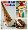 Festive 4th Of July Frozen Treats