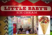 Little Baby's Pizza-flavored Ice Cream Is A First