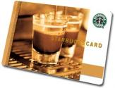 Starbucks' Stainless Steel Credit Card Worth $450