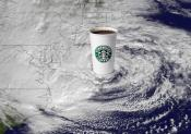 Starbucks Makes Hay While Superstorm Sandy Lashes New York