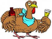 Turkeys Guzzle Beer Before Thanksgiving