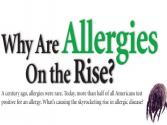 Increase In Allergies! Why?