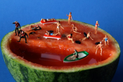 Italian Artists Create Lively Scenes With Food