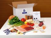 Don The Blue Apron At Home