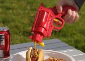 Funky Condiment Gun To Spice Up Your Bbq Party