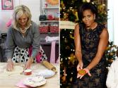 Michelle Obama Takes On Ann Romney At Cookie Bake-off