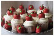 5 Easy Apple Cupcake Ideas