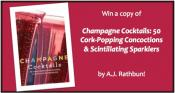 Champagne Cocktails Recipe Book Giveaway