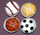 How To Decorate Cup Cakes With Sports Themes
