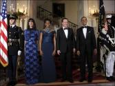 The Camerons Served Star Studded White House Dinner