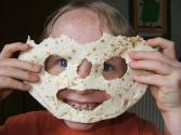 How To Create Edible Mask From Tortilla