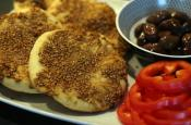 Mana'eesh Flatbreads With Za'atar Spice