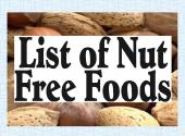 Nut Free Food: How To Buy Tips
