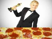 Ellen Degeneres Orders Pizza At The Oscars'