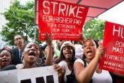 Nationwide Fast Food Workers Protest On Aug 29