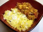 African Curried Lamb