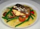 Halibut Broil Amandine