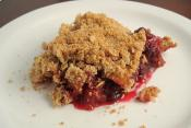 Easy Apple Cranberry Crispy
