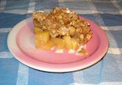 Apple And Oat Crisp