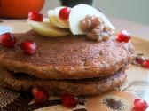Apple Oatmeal Pancake