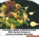 Creamy Apple Pecan Salad