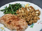Pork Chops With Spiced Apple Stuffing