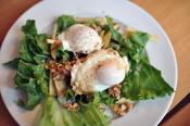 Apple Walnut Salad With Chutney Yogurt Dressing