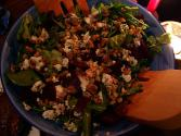 Apple And Watercress Salad With Blue Cheese