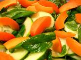 Apricot Salad With Terragon Vinegar