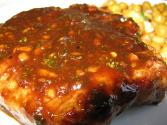 Apricot Sauced Pork Chops