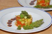 Asparagus With Apples
