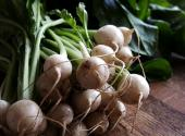 Spiced Baby Turnips