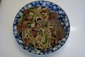 Fresh Bacon With Pea Starch Noodles